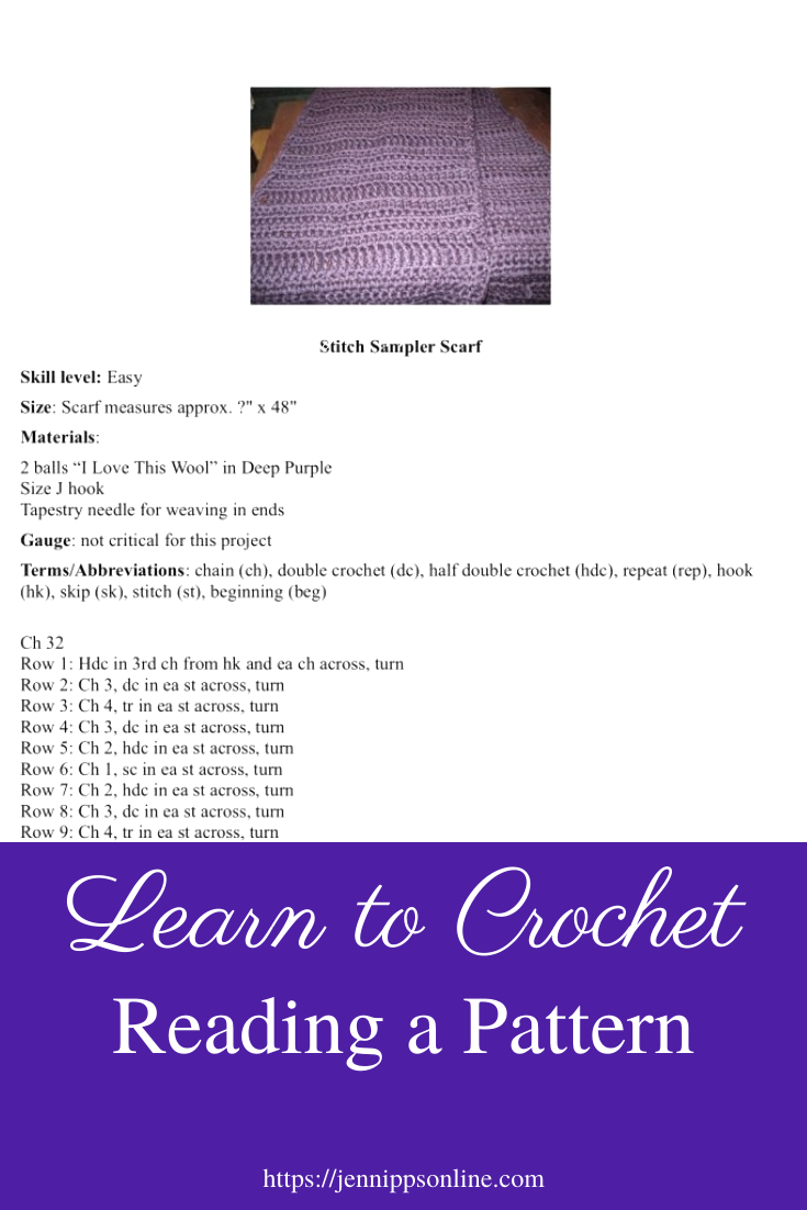 Learn to Crochet: Reading a Pattern post thumbnail image